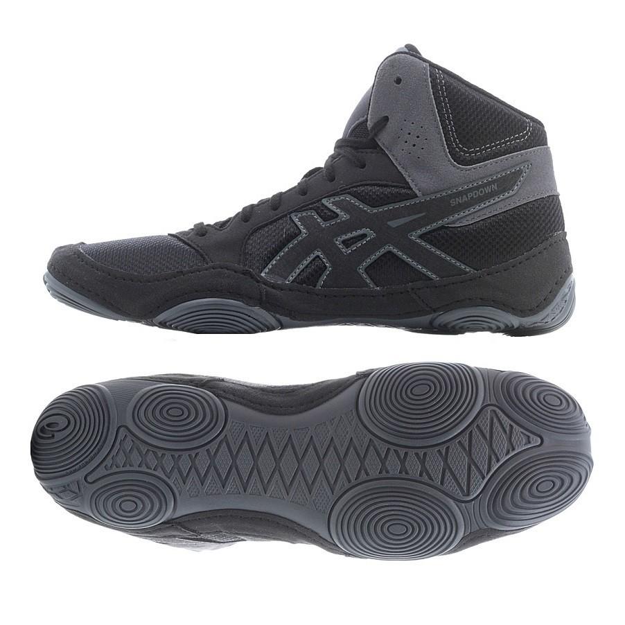 asisc Snapdown 2 (sötétszürke) birkózó cipő - Birkózó Mánia webshop 244dabdea5