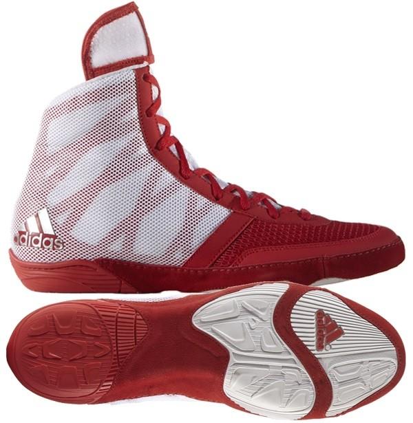 0b7a140e97 adidas Pretereo III (piros) birkózó cipő - Birkózó Mánia webshop