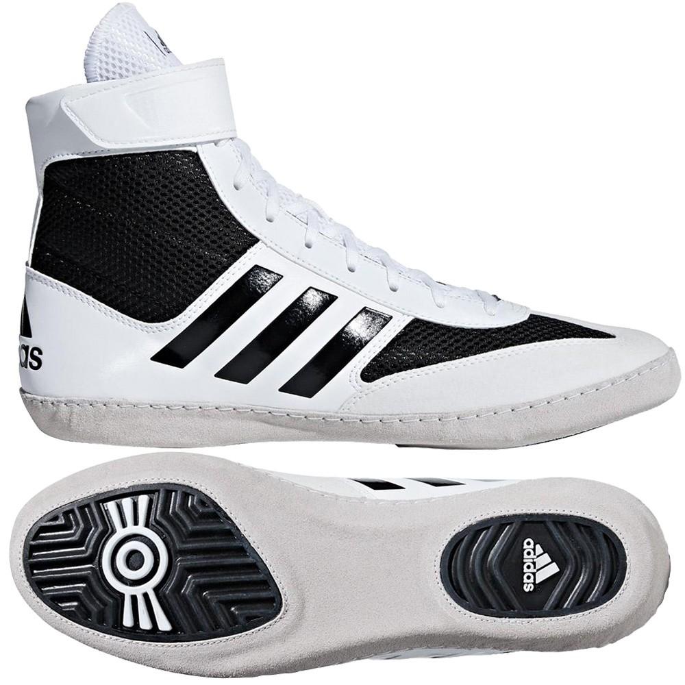 6a8a1ead7f adidas Combat Speed 5 (fehér-fekete) birkózócipő - Birkózó Mánia webshop