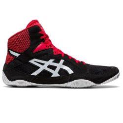 asics Snapdown 3 fekete-piros birkózó cipő