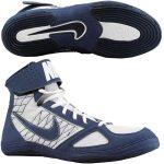 NIKE Takedown (Kék-fehér) birkózó cipő