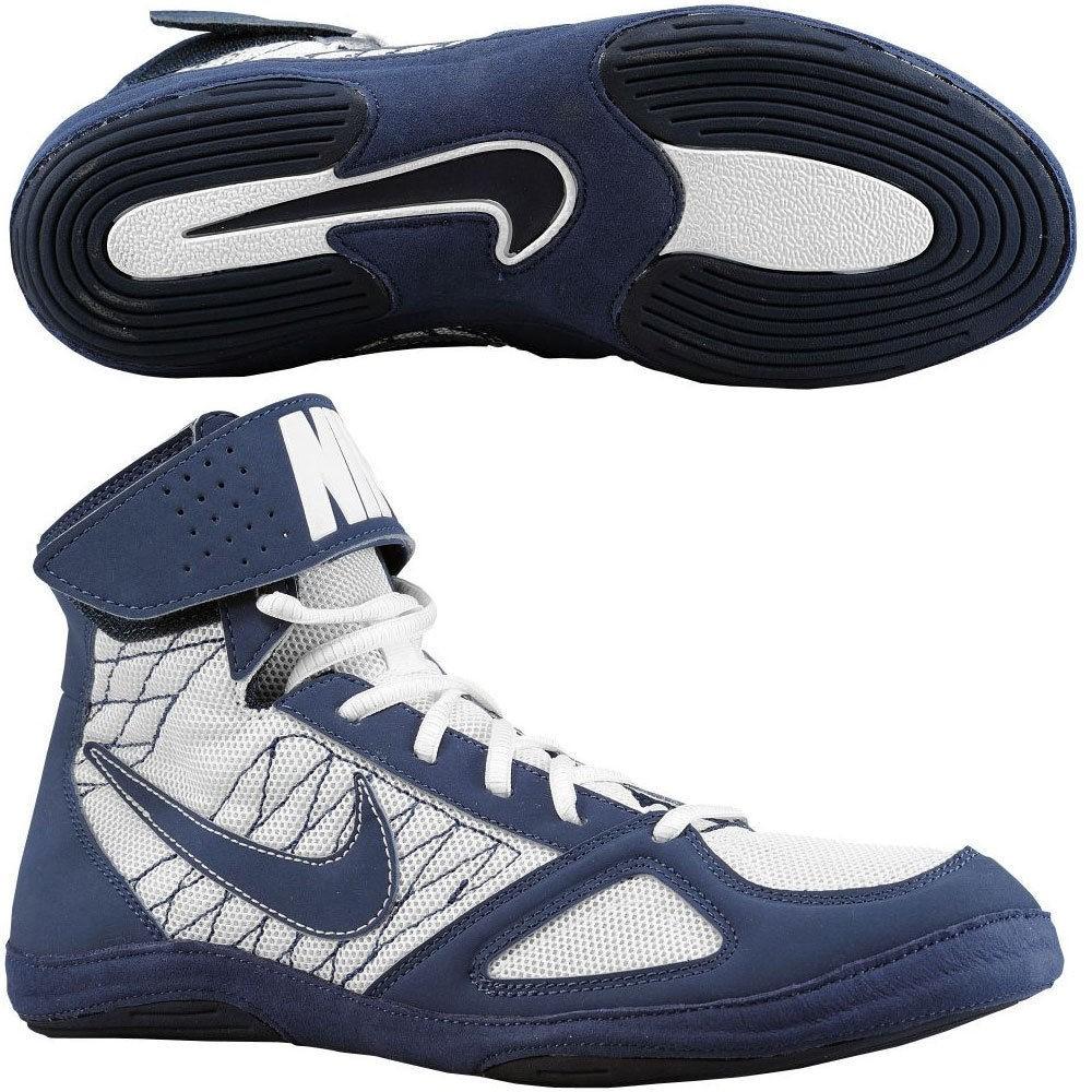 NIKE Takedown (Kék-fehér) birkózó cipő - Birkózó Mánia webshop 5086626cdf