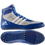 adidas Mat Wizard (kék-szürke) birkózó cipő