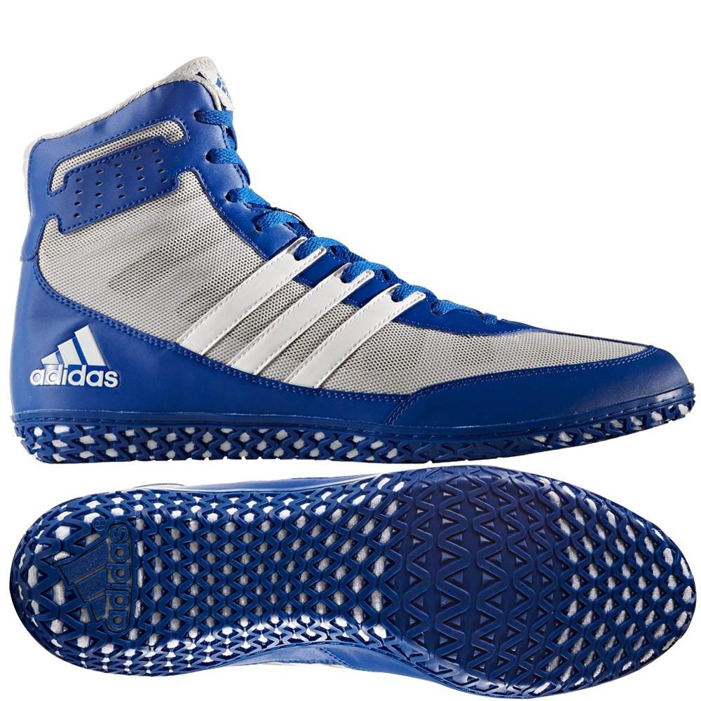 adidas Mat Wizard (kék-szürke) birkózó cipő - Birkózó Mánia webshop 14d214259f