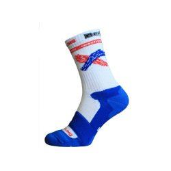 Berkner zokni fehér-kék