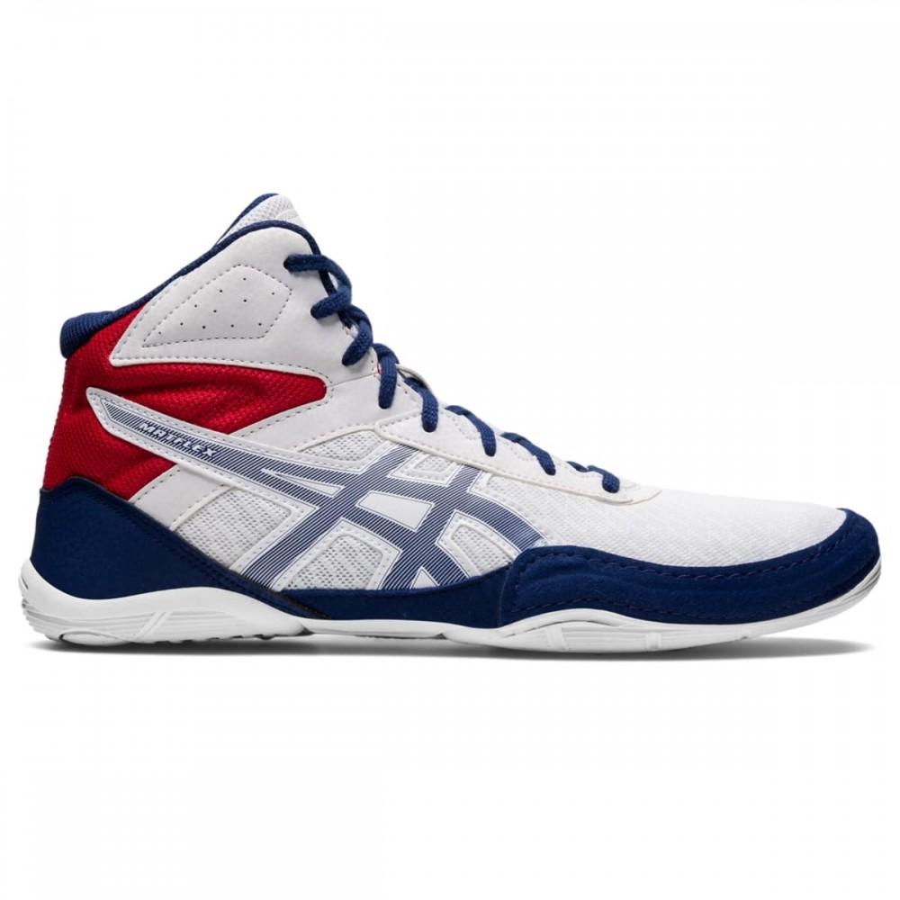 b40a2cf72b23 asics Split Second 9 (kék-ezüst) birkózó cipő - Birkózó Mánia webshop