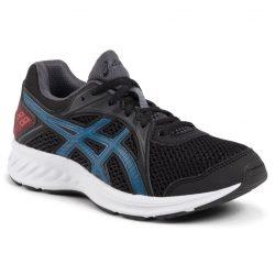asics Jolt 2 GS gyermek futó- és utcai cipő fekete-kék