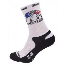 Berkener zokni fehér-fekete