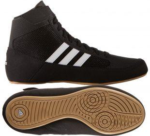 5fada6251a adidas HVC (fekete) gyermek birkózó cipő,
