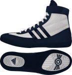 adidas Combat Speed 4 (fehér-sötétkék) birkózó cipő