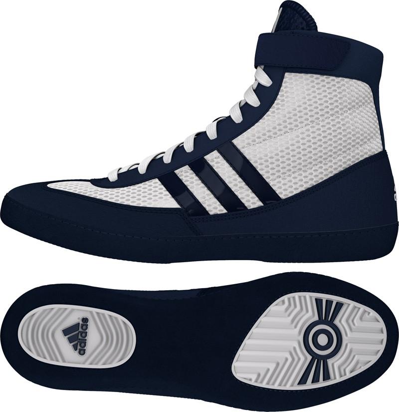 adidas Combat Speed 4 (fehér-sötétkék) birkózó cipő - Birkózó Mánia ... f12c139ce4