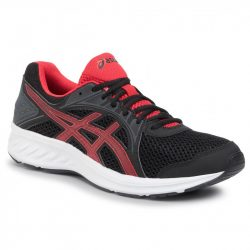 asics Jolt 2 felnőtt futó- és utcai cipő fekete-piros