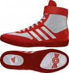 adidas Combat Speed 5 (piros-fehér) birkózócipő!