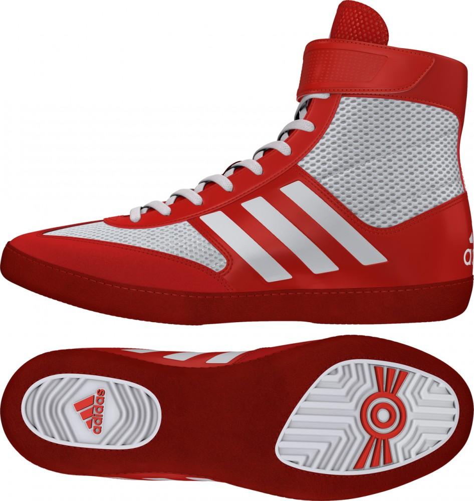 429e4ef5df adidas Combat Speed 5 (piros-fehér) birkózócipő! - Birkózó Mánia webshop