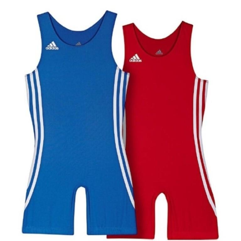 adidas PB kids piros és kék birkózómez - Birkózó Mánia webshop d145ea7ac5