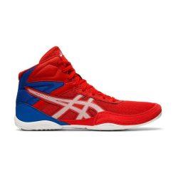 asisc Matflex VI GS piros-kék-fehér gyermek birkózó cipő RAKTÁRON!!!
