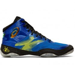 asics JB Elite IV kék-fekete birkózó cipő RAKTÁRON!!!